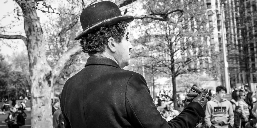 Charlie Chaplin és az önszeretet