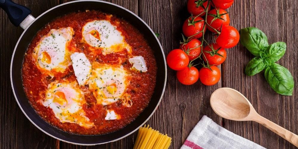 tavaszi-reggeli-recept, shakshuka